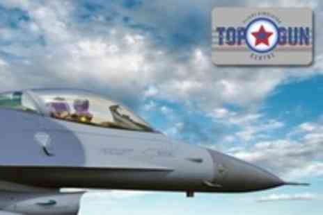 Top Gun Flight Simulator Centre - Flight Simulator Experience For One - Save 53%
