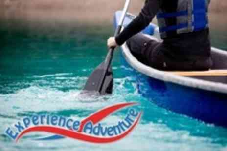 Experience Adventure - Canoeing Full Day With Guided Tour Hot Drinks and Photo For Two - Save 51%