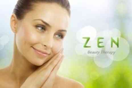 Zen Beauty Therapy - One Hour Facial With Japanese Style Face Massage - Save 20%
