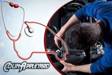 Colin Appleyard - Winter Health Check and Premium Valet For One Car - Save 60%