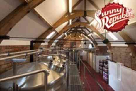 Sunny Republic Brewing Company - Brewery Tour and Ale Tasting Session For Two - Save 55%
