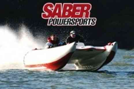 Saber Powersports - Powerboating One Hour Thunderbolt - Save 59%