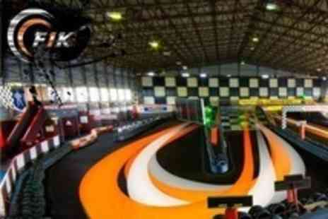 F1K Indoor Karting - Go Karting Up To 50 Lap Race - Save 22%