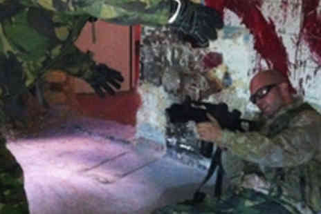 The Military Adventure Park - Zombie Apocalypse MP5 Airsoft Experience - Save 66%
