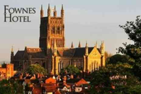 Fownes Hotel - In Worcester Two Night Stay For Two With Breakfast - Save 19%