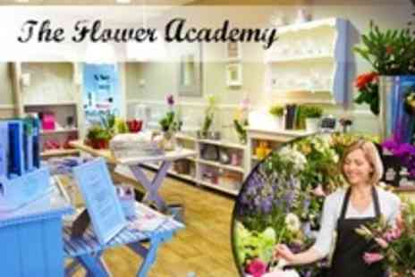 The Flower Academy - Flower Arranging Taster Class For One - Save 32%