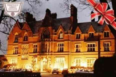 Wroxall Abbey Estate Hotel and Spa - In Warwickshire One Night Stay For Two With Three Course Festive Meal Plus Breakfast - Save 14%