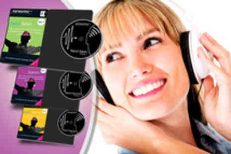 Earworms MBT - Musical brain training language course in your choice of 15 languages including phrasebook - Save 64%