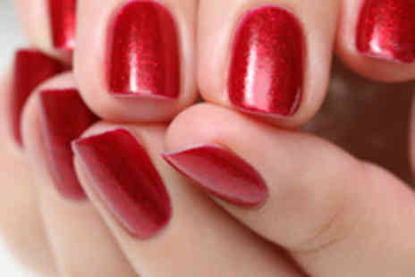 Honeys Nail and Beauty Bar - Gelish Manicure or Pedicure - Save 55%