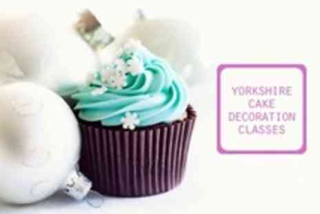 Yorkshire Cake Decorating Classes - Yorkshire Cake Decorating Classes Two Hour Workshop For One - Save 64%