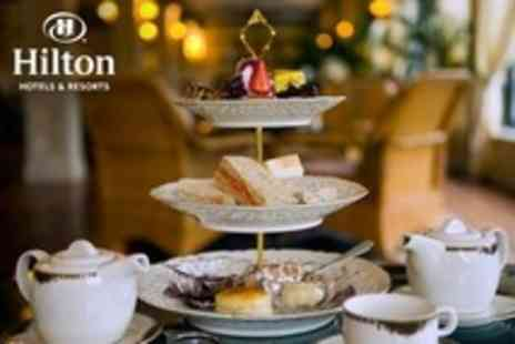 Hilton Bath City Hotel - Traditional Afternoon Tea With Prosecco For Two or Four - Save 43%