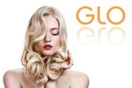 GLO - Half Head Highlights or Full Head Colour With Cut and Blow Dry Plus OPI File and Polish - Save 72%