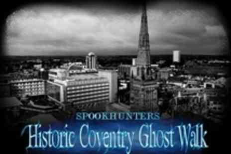 Spook Hunters - Ghostly Walking Tour Tickets for Two People - Save 50%