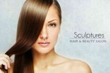 Sculptures Hair and Beauty Salon - Brazilian Blow Out - Save 63%
