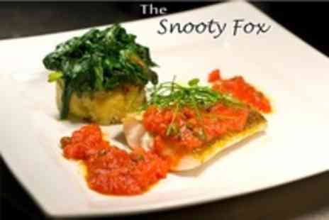 The Snooty Fox - Gastro Pub Meal For Two - Save 62%