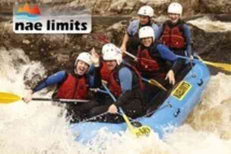 Nae Limits - Choice of Water Adventure Activity Such as Canyoning, Rafting or Tubing - Save 55%