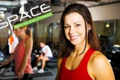 Space Health and Fitness - 15 Gym Day Passes - Save 92%