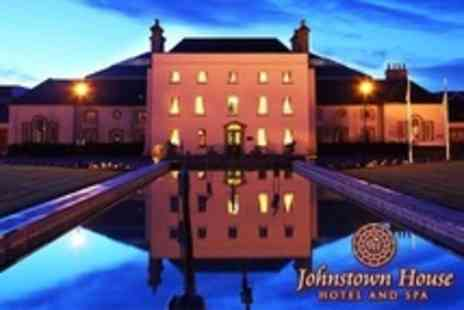 Johnstown House Hotel - One Night Stay For Two With Elemis Hot Stone Massage or Facial Plus Breakfast - Save 50%