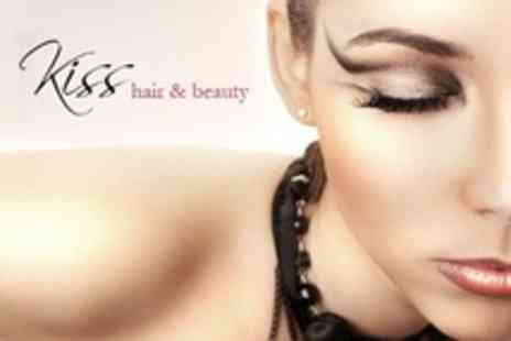 Kiss Hair and Beauty - Semi Permanent Makeup One Area Such as Eyebrows or Lips - Save 0%