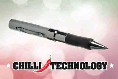 Chilli Technology - Pen Cam for £15 from Chilli Technology - Save 50%