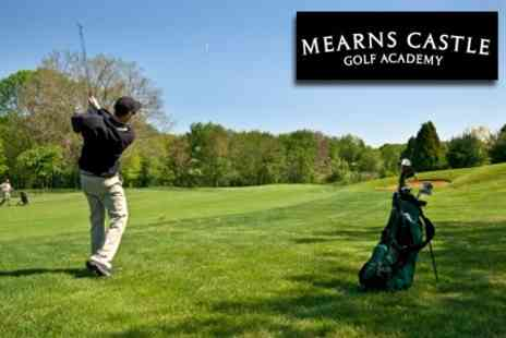 Mearns Castle Golf Academy - 18 Holes of Golf Plus Lunch, 50 Driving Range Balls and Practice Session - Save 63%