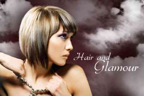 Hair and Glamour - Full Head of Foils With Condition and Head Massage - Save 60%