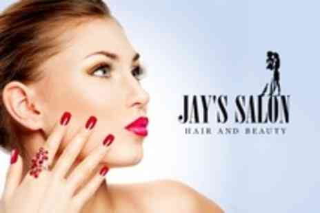 Jays Hair and Beauty - Luxury Manicure and Pedicure - Save 64%