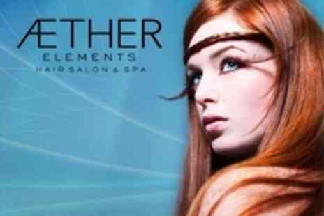 Aether Elements - Cut and Blow Dry With Aveda Hair Mask - Save 66%