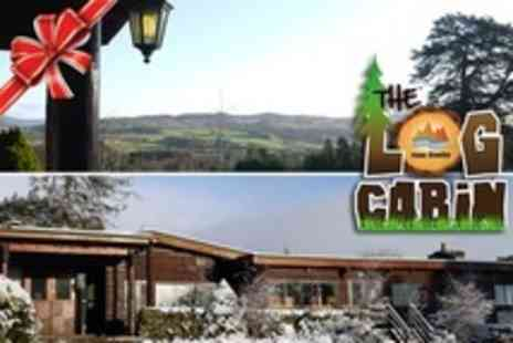 The Nae Limits Log Cabin - In Perthshire Hills One Night Stay For Two With Prosecco and Breakfast - Save 54%
