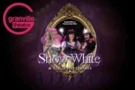 Granville Theatre - Snow White Pantomime Ticket - Save 50%