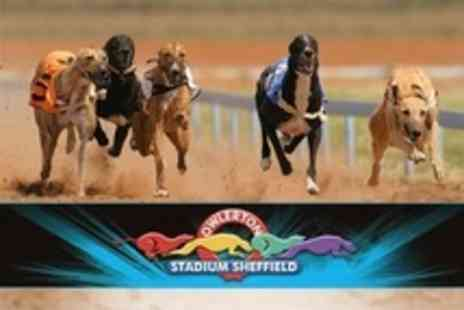 Owlerton Greyhound Stadium - Admission With Racecard, Jumbo Hot Dog, Two Drinks - Save 74%