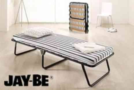 Bed Centre UK - Jay Be Single Folding Bed With Storage Cover - Save 60%