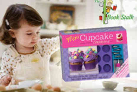 The Book Stalk - Kids Mini Cupcake Creations Kit AND Complete Kids Cooking Book - Save 55%