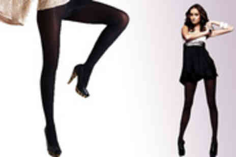 My Shapes UK - Hourglass shape with Emana 80 denier tights - Save 70%