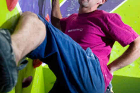 Rock Over Climbing - Hour Long Introductory Climbing Session for Two - Save 52%