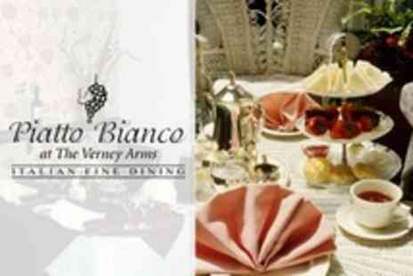 Piatto Bianco - Afternoon Tea For Two - Save 40%