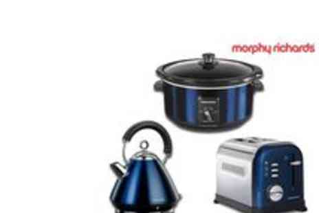 Morphy Richards - 3 Piece Kitchen Set Cooker Toaster Kettle - Save 50%