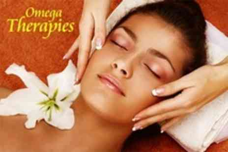 Omega Therapies - Full Body or Indian Head Massage - Save 53%