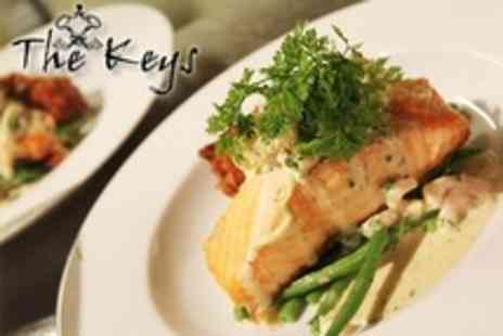The Keys - Two British Cuisine Course Lunch For Two - Save 59%