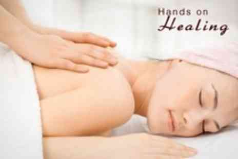 Hands On Healing - Choice of 70 Minute Full Body Massage - Save 24%