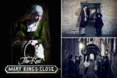 The Real Mary King's Close - Underground Tour For Two With Guidebook  - Save 50%