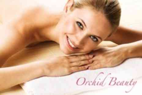 Orchid Beauty - Microdermabrasion, Warm Lava Shell Massage and Eyebrow Design - Save 57%