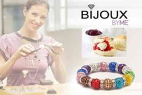 Bijoux By Me - Jewellery Making Workshop and Afternoon Tea - Save 66%
