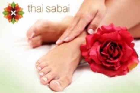 Thai Sabai - Shellac Manicure or Pedicure - Save 60%