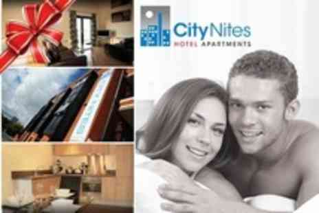 City Nites - One Night Luxury Apartment Stay For Two - Save 55%