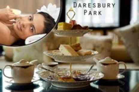 Daresbury Park - Spa Day with Afternoon Tea For Two - Save 46%