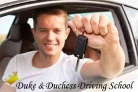 Duke and Duchess - Four Driving Tuition Hours - Save 63%
