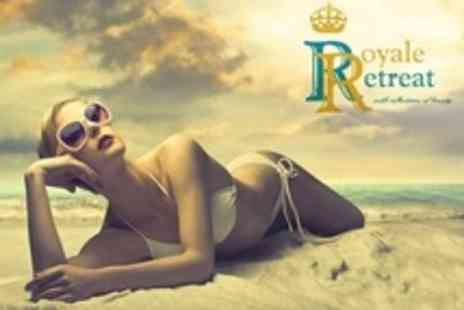 Royale Retreat - Spray Tan and Exfoliation - Save 62%