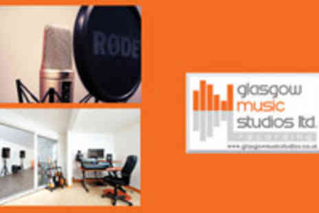 Glasgow music studios - One Hour Recording Session with CD - Save 61%