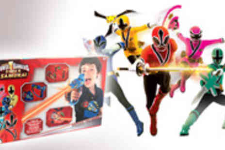 SVB Trading - Prepare for battle with this Power Rangers Super Samurai Laser Game - Save 51%